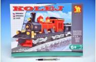 Stavebnice Dromader Vlak+koleje 25705 410ks v krabici 41x31x6cm