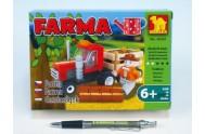 Stavebnice Dromader Farma 28301 93ks v krabici 18,5x13x4,5cm