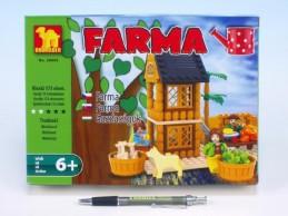 Stavebnice Dromader Farma 28404 173ks v krabici 25,5x18,5x4,5cm - Rock David