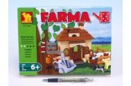 Stavebnice Dromader Farma 28405 168ks v krabici 25,5x18,5x4,5cm
