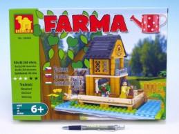 Stavebnice Dromader Farma 28602 260ks v krabici 34,5x25x5,5cm - Rock David