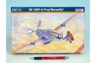 Model BF-109F-4 Trop Marseille série III 12,56x13,78cm v krabici 26x16,5x3,5cm