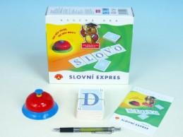Slovní expres společenská hra v krabici 19,5x18,5x5cm - Rock David