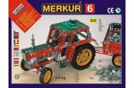 Stavebnice MERKUR 6 100 modelů 940ks 4 vrstvy v krabici 54x36x6cm
