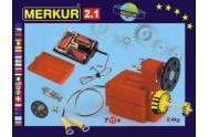 Stavebnice MERKUR 2.1 Elektromotorek v krabici