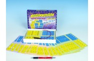 Sčítání a odčítání společenská hra na baterie v krabici 22x16x3cm