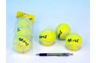 Tenisové míčky 3ks v sáčku