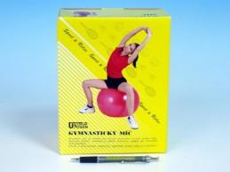 Gymnastický míč 85cm asst 4 barvy v krabici - Rock David