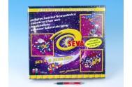 Stavebnice Seva 6 Elektro plast 625ks v karbici 35x33x8cm