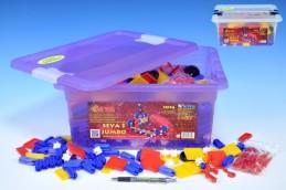 Stavebnice Seva 3 Jumbo plast 1074ks v plastovém boxu - Rock David