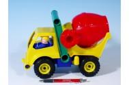 Auto domíchávač aktivní plast 27cm od 24 měsíců