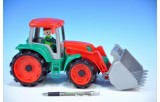 Auto Truxx traktor nakladač plast 35cm od 24 měsíců