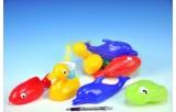 Plavací sada zvířátka plast 4ks v síťce od 12 měsíců