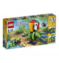 LEGO Creator Zvířata z deštného pralesa