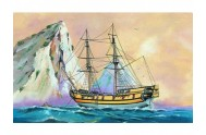 Model Black Falcon Pirátská loď 24,7x27,6cm v krabici 34x19x5,5cm