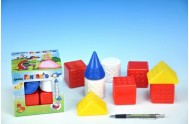 Kostky kubus Fantazie plast 9ks v krabičce od 6 měsíců
