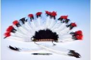 Čelenka indiánská 60x35cm v sáčku