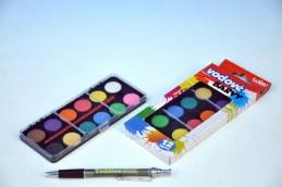 Vodové barvy 12 barev v krabičce - Rock David