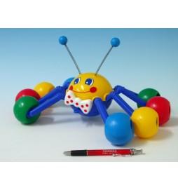 Tahací pavouk plast 33cm v sáčku