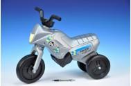 Odrážedlo Enduro Yupee Policie malé plast výška sedadla 26cm nosnost do 25kg od 12 měsíců