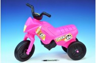 Odrážedlo Enduro Yupee růžové malé plast výška sedadla 26cm nosnost do 25kg od 12 měsíců