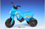 Odrážedlo Enduro Yupee tyrkysové malé plast výška sedadla 26cm nosnost do 25kg od 12 měsíců