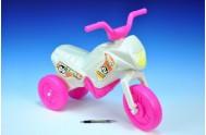 Odrážedlo Enduro Yupee bílé malé asst 4 druhy plast výška sedadla 26cm nosnost do 25kg od 12 měsíců