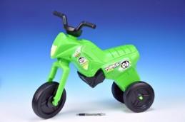 Odrážedlo Enduro Yupee zelené velké plast výška sedadla 31cm nosnost do 25kg od 12 měsíců - Rock David