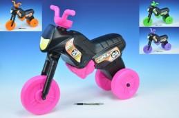 Odrážedlo Enduro Yupee černé velké plast výška sedadla 31cm nosnost do 25kg od 12 měsíců - Rock David