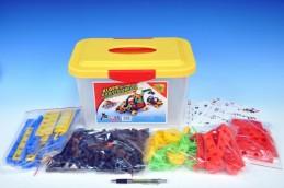 Stavebnice Variant Malý konstruktér 402 dílů v plastovém boxu - Rock David