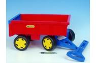 Vozík/Vlečka dětská plast 95cm od 12 měsíců Wader nosnost 60kg