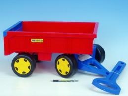 Vozík/Vlečka dětská plast 95cm od 12 měsíců Wader nosnost 60kg - Rock David