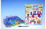 Stavebnice lístky Wader plast 200ks v krabici