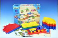 Kid Cars Železnice 3,1m v krabici od 12 měsíců Wader