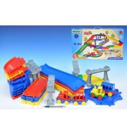 Kid Cars - Městečko 6,3m Wader v krabici od 12 měsíců