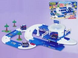 Kid Cars 3D Policie plast 3,8m v krabici od 12 měsíců Wader - Rock David