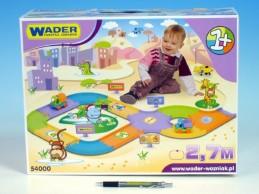 Silnice pro děti plast 2,7m v krabici - Rock David