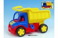 Auto Gigant Truck sklápěč  plast 55cm v krabici od 12 měsíců Wader