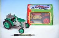 Traktor Zetor kov 14cm 1:25 v krabičce Kovap