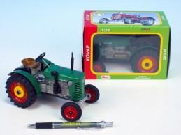 Traktor Zetor 25A kov 15cm 1:25 v krabičce Kovap - Rock David