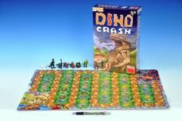 Dino Crash společenská hra v krabici 20x30x6cm - Rock David
