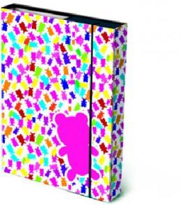 Box na sešity A4 Gummy Bears - Renčín Vladimír