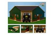 Garáž/farma dřevo 34,5x100,3x38cm 1:16 v krabici