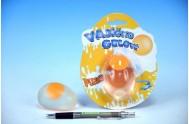 Vajíčko gelové 6cm na kartě