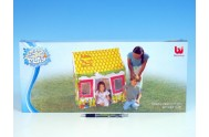 Domeček/stan s okny dětský 102x114x76cm v krabici