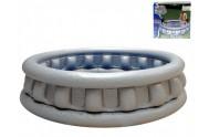 Bazén Crystal nafukovací kónický 3 komory 157x41cm 414L v krabičce