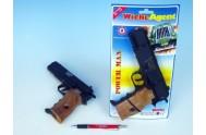 Pistole - Kapslovka Powerman 22cm 8 ran na kartě