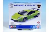 Auto Bburago KIT Lamborghini Murciélago LP 670-4 SV kov/plast 1:24 v krabici