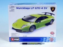 Auto Bburago KIT Lamborghini Murciélago LP 670-4 SV kov/plast 1:24 v krabici - Rock David