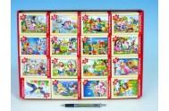 A-08521-B Minipuzzle Pohádky 54 dílků 16.5x11cm